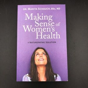 Virtually new book about women's health
